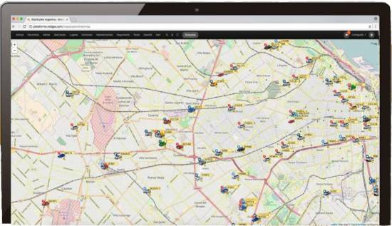 Cartografía OpenStreetMaps