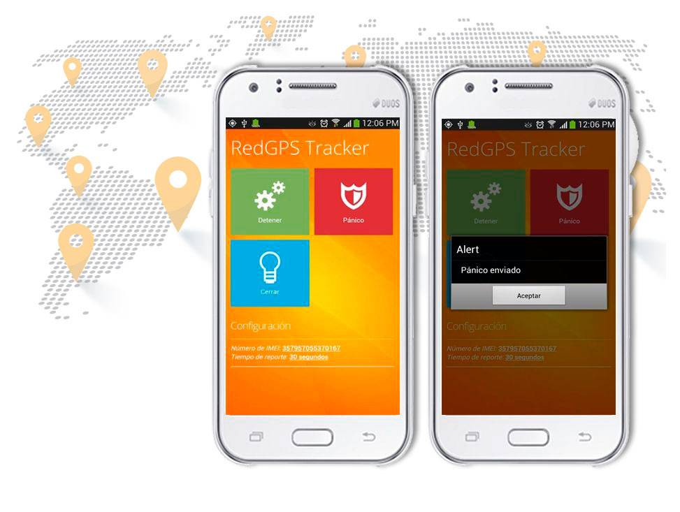 Rastreo Movil - RedGPS - Plataforma de Rastreo GPS