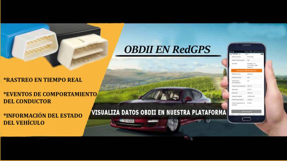 OBDII EN REDGPS - RedGPS - Plataforma de Rastreo GPS