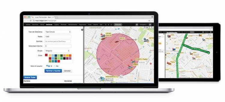 Plataforma de rastreo GPS