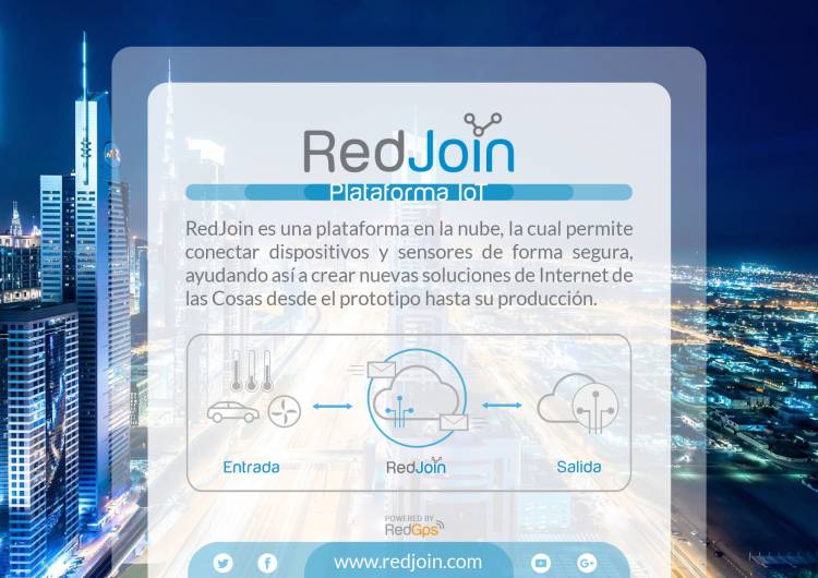 Lanzamiento RedJOIN - Plataforma IoT